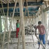 2011: Přístavba druhého patra dívčí ubytovny na internátní škole Gopalgonj